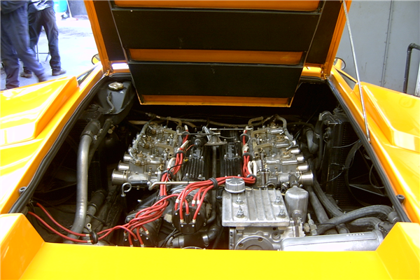 Heart of the Lambo.