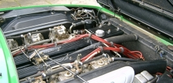 Lamborghini Jarama - engine