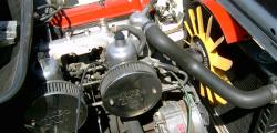 Triumph TR7- Engine